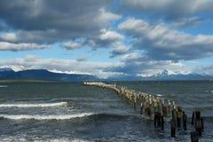 Punta Arenas shoreline 3. Shoreline near the town of Punta Arenas in Southern Chili Stock Photos
