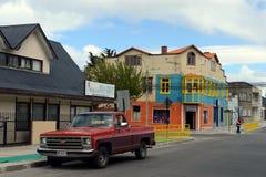 Punta areny są miastem w Chile Obraz Stock