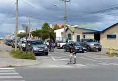 Punta areny są miastem w Chile Zdjęcie Royalty Free