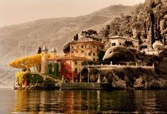 Punta Balbianello - Lake Como Stock Image