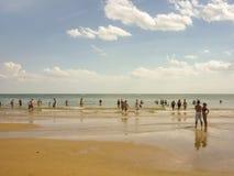 Punta Ballena Beach in Uruguay Royalty Free Stock Photography