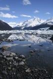 Punta Bandera, Lago Argentino, Calafate, Patagonia, Argentina. Royalty Free Stock Images