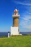 Punta Brava latarnia morska w Punta Carretas, Montevideo, Urugwaj Zdjęcia Royalty Free