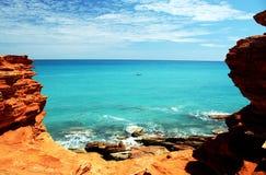 Punta Broome WA de Gantheaume Foto de archivo libre de regalías