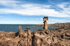 Punta Camarones, Патагония, Аргентина Стоковое фото RF