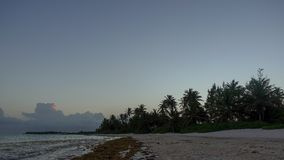 Punta Cana Beach Sunset. 2. This is a second version of this scene in 4K timelapse stock footage