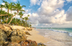 Punta Cana. Punta Cana in the Dominican Republic stock image