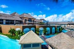 PUNTA CANA, DOMINICAN REPUBLIC - OCTOBER 31, 2015: Hard Rock Hotel and Casino Punta Cana royalty free stock photo