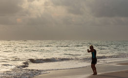 PUNTA CANA, REPUBBLICA DOMINICANA - 2 ottobre 2015 fotografia stock