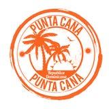Punta Cana stämpel Royaltyfria Foton