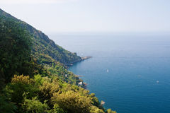 Punta Chaippa - Camogli Royalty Free Stock Images