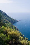 Punta Chaippa - Camogli, Italy Stock Image