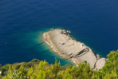 Punta Chiappa, Camogli Stock Photo