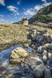 Punta Chiappa in Portofino Stock Image