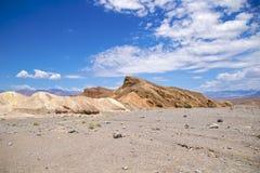Punta de Death Valley Zabriskie Foto de archivo libre de regalías