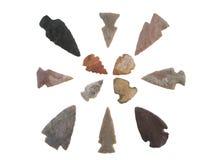 Punta de flecha Fotografía de archivo libre de regalías