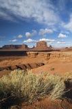 Punta de Juan Ford, parque tribal del valle del monumento, A Fotografía de archivo libre de regalías