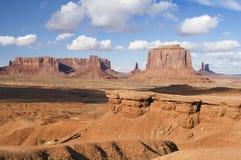 Punta de Juan Ford, valle del monumento, Arizona Imagen de archivo libre de regalías
