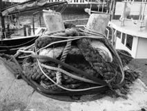 Punta de la amarradura Fotografía de archivo libre de regalías