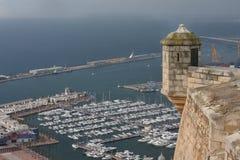 Punta de la vista del castillo Fotos de archivo