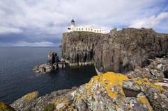 Punta de Neist, isla de la opinión de Skye Imagen de archivo libre de regalías