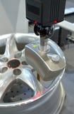 Punta de prueba del laser Foto de archivo libre de regalías