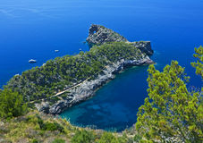 Punta DE Sa Foradada, Majorca stock foto