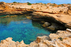 Punta de Sa Pedrera in Formentera, Balearic Islands, Spain Stock Images
