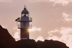Punta de Teno Lighthouse on Tenerife Royalty Free Stock Photo