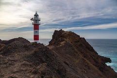 Punta de Teno lighthouse, Tenerife Royalty Free Stock Photography