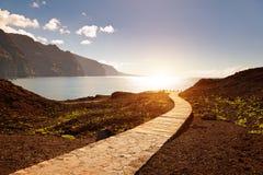 Punta de Teno, Ténérife Images libres de droits
