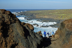 Punta de Teno, Tenerife Arkivbilder