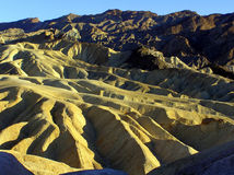 Punta de Zabriski en Death Valley NP, California, los E.E.U.U. Imágenes de archivo libres de regalías