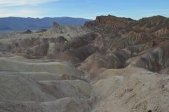 Punta de Zabriskie en Death Valley Fotografía de archivo