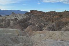 Punta de Zabriskie en Death Valley Imágenes de archivo libres de regalías
