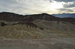Punta de Zabriskie en Death Valley Fotografía de archivo libre de regalías