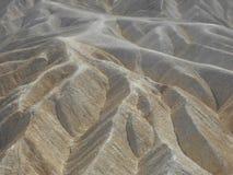 Punta de Zabriskie en Death Valley Foto de archivo