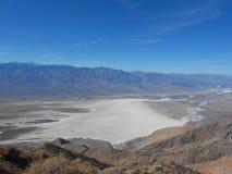 Punta de Zabriskie en Death Valley Imagen de archivo libre de regalías