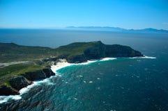 Punta del cabo (Suráfrica) fotografía de archivo