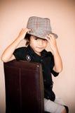 Punta del cappello Fotografie Stock