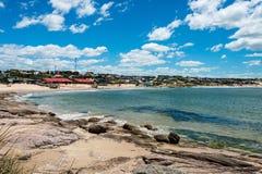 Punta del Diablo beach in Uruguay Royalty Free Stock Photo