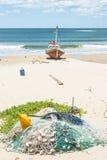 Punta del Diablo Beach, Uruguay Stock Image