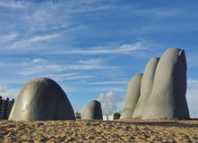 Punta Del Este Stockbild