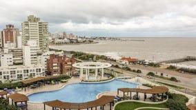 Punta del Este Aerial View Royalty Free Stock Image