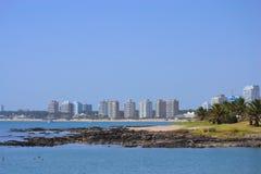 Punta del Este Bay Photos stock