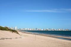 Punta del Este beach in Uruguay Stock Image