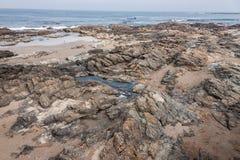 Punta del Este Beach Uruguay Stock Images