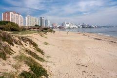 Punta del Este Beach Uruguay Stock Image