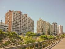 Punta del Este Buildings Royalty Free Stock Images