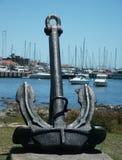 Punta del Este Harbor Sculpture Royalty Free Stock Photos